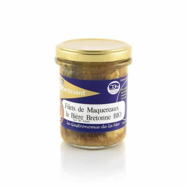 Filets de maquereaux à la bière bretonne (Sans Sel Ajouté) Kerbriant