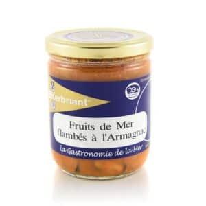 Fruits de Mer flambés à l'Armagnac