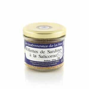 Rillettes de sardines à la Salicorne Kerbriant