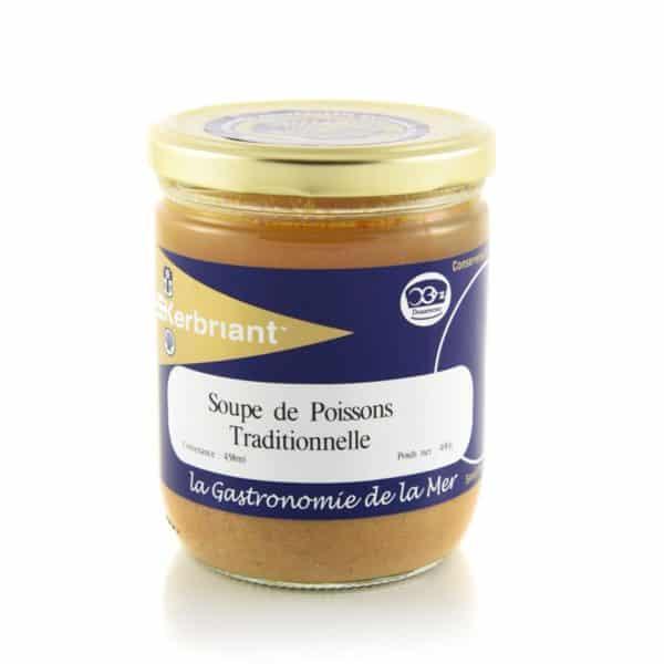 Soupe de Poissons Traditionnelle 400G Kerbriant