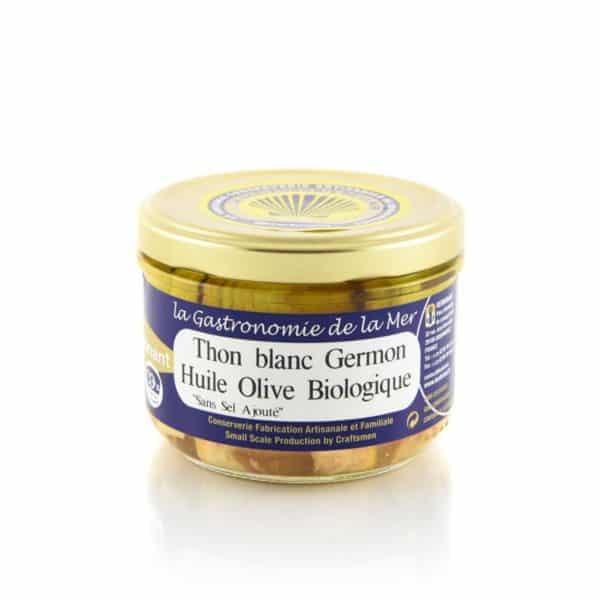 Thon blanc Germon à l'huile d'olive bio Kerbriant