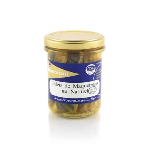 Filets de Maquereaux au Naturel Kerbriant