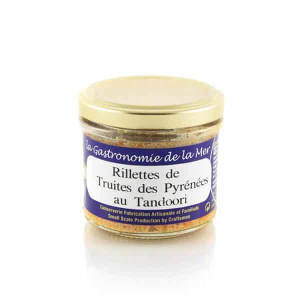 Rillettes de Truites des Pyrénées au Tandoori Kerbriant