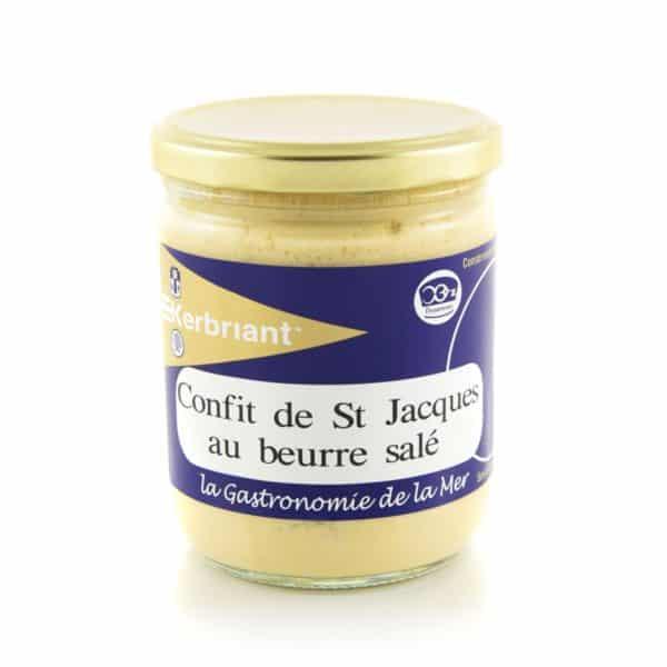Confit de St Jacques au beurre salé