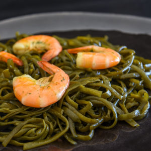 Algues et salicornes