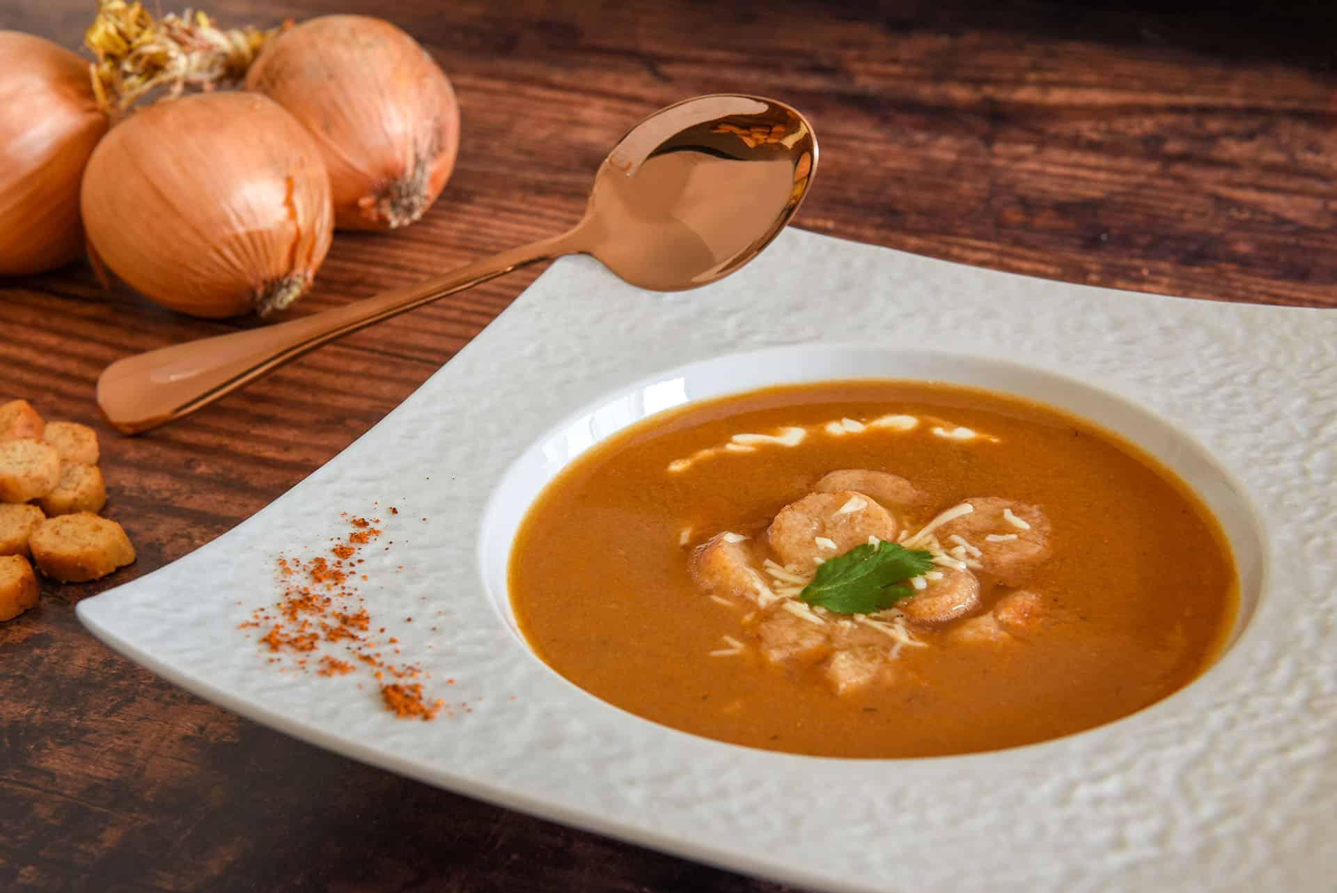 Soupe de poissons traditionnelle bretonne kerbriant