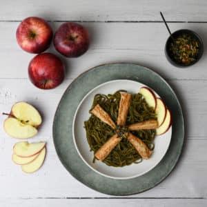 Filets de maquereaux aux pommes
